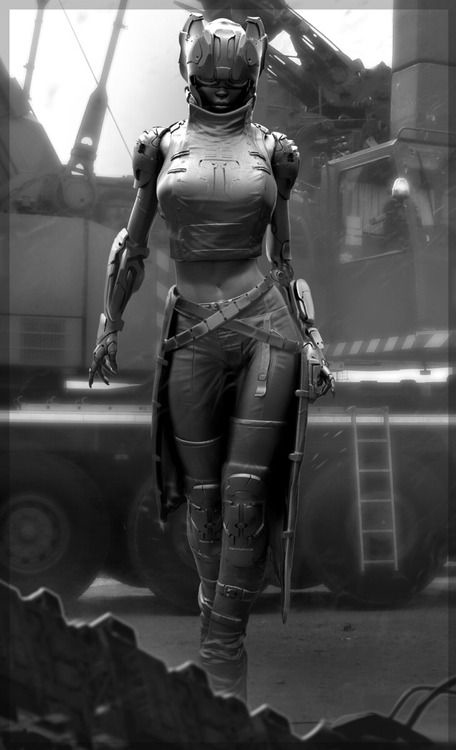 人工智能时代:你会拥有一群女友但她们都是机器人女战士