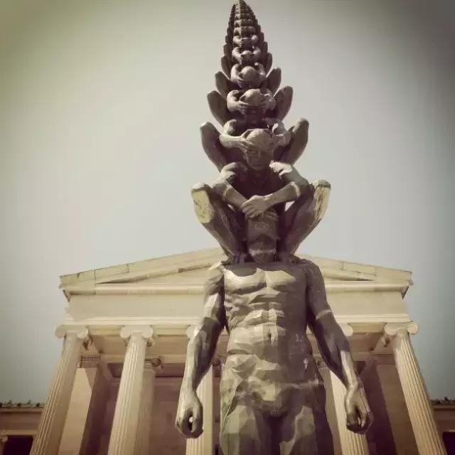 雕塑设计:TMD这些雕塑作品图片真的是不科学啊