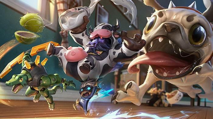 爱乐游戏最新一期LOL视频:带你玩转英雄联盟丧魂钟奶牛辅助