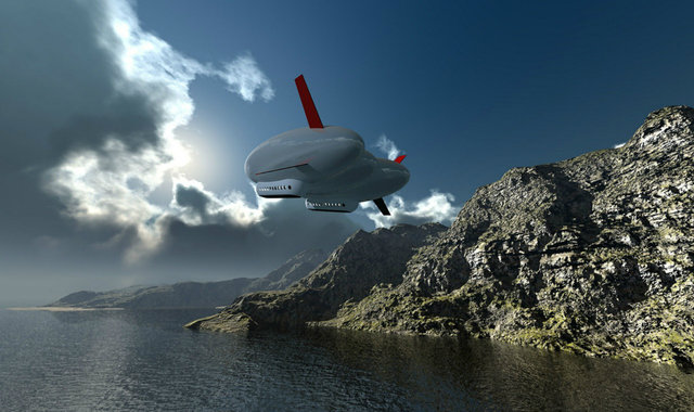 Google 创始人秘密造了艘巨大的飞艇要做什么?