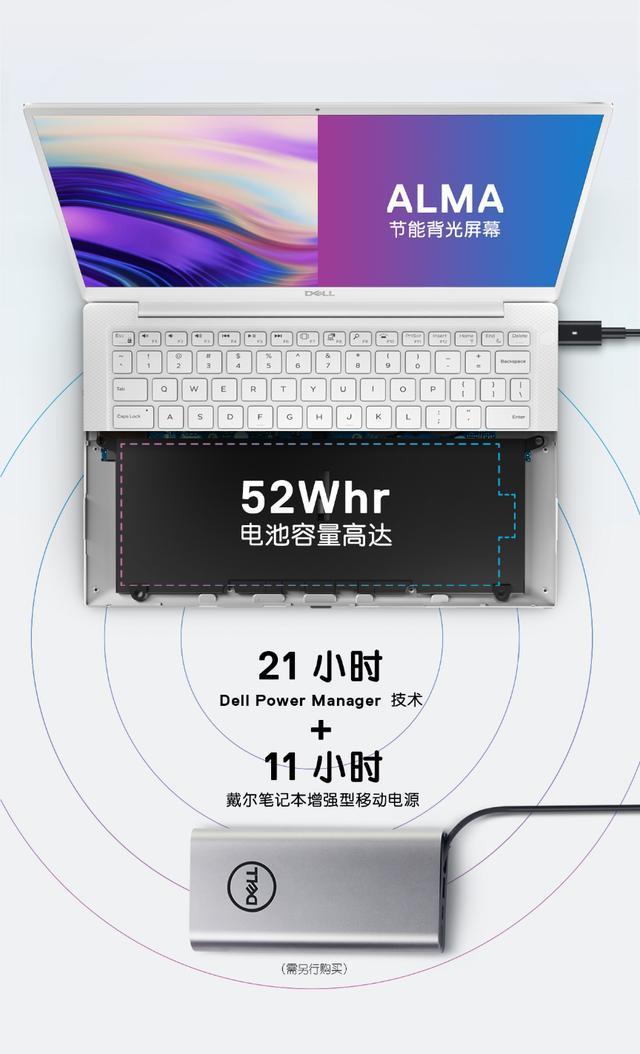 820万4K触控屏,最小戴尔XPS13 9380引爆CES